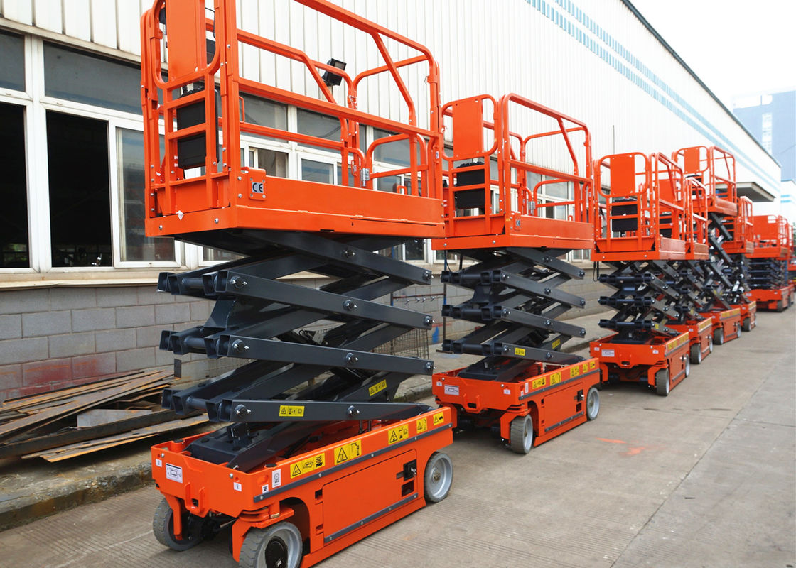 Electric Driven Mobile Hydraulic Scissor Lift Tilt Protection System